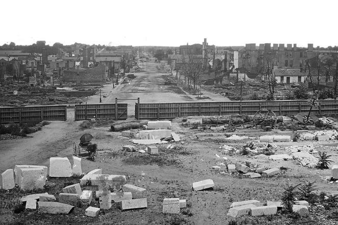 Columbia main street 1865
