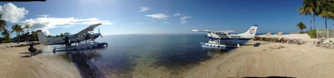 Seaplane on beach.JPG