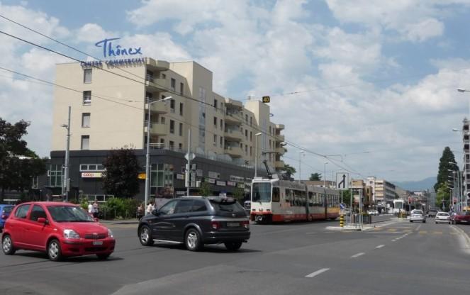 Thonex downtown