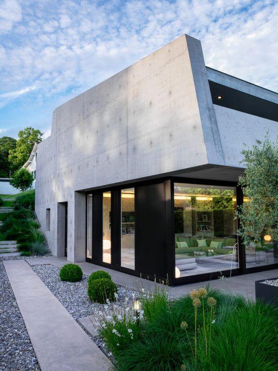 Thonex modern house