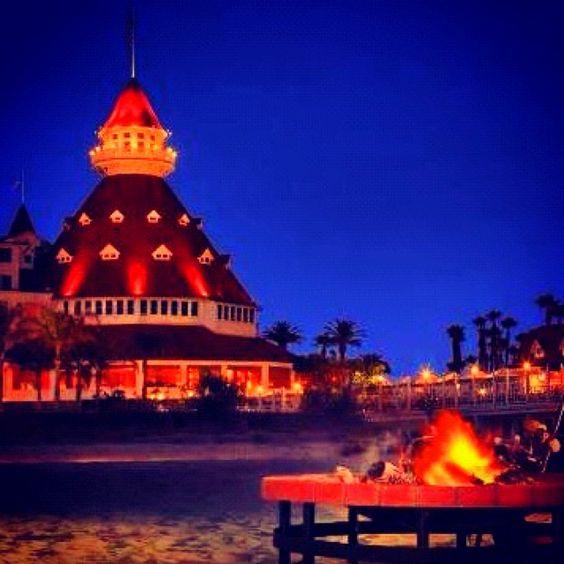 Hotel Del Coronado bonfire.jpg
