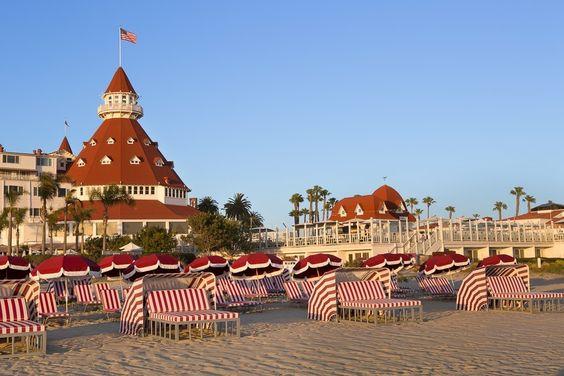 Hotel Del Coronado daybeds